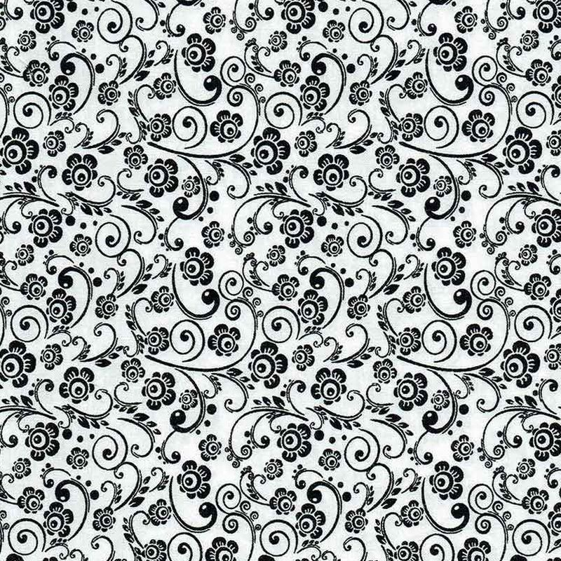 Black White Collection Quilt Fabric By Kennard And Kennard