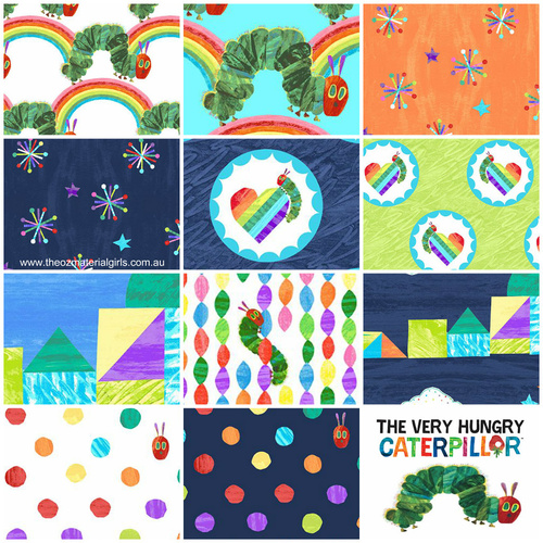 Very Hungry Caterpillar Bright VHC 1/2m Bundle