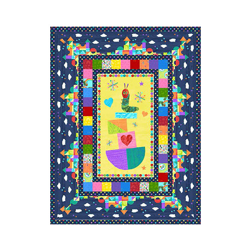 Very Hungry Caterpillar Bright Quilt Kit
