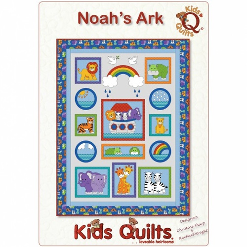 Little Noah Noah's Ark Quilt Kit
