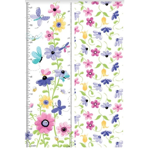 Flutter the Butterfly Growth Chart Panel