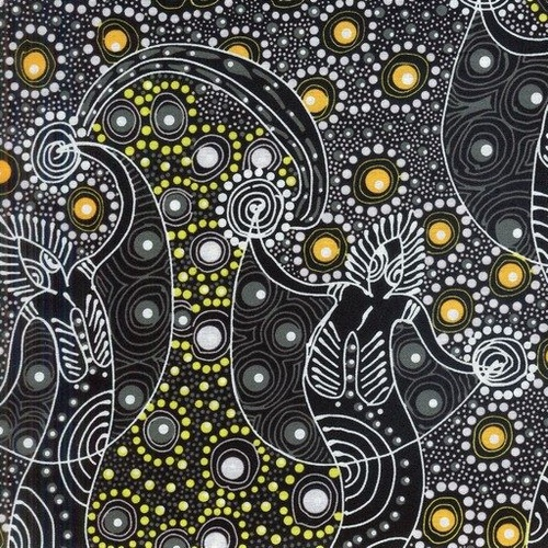 Australian Aboriginal Design Dancing Spirit