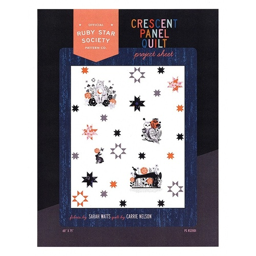 Ruby Star Society Crescent Panel Quilt Kit