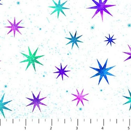 Cosmic Universe Digital Stars Multi White