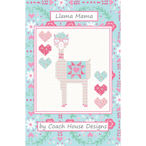 Moda Llama Love Quilt Kit Mama in Box