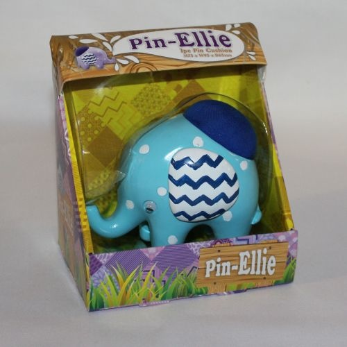 Ellie Pin Cushion Blue