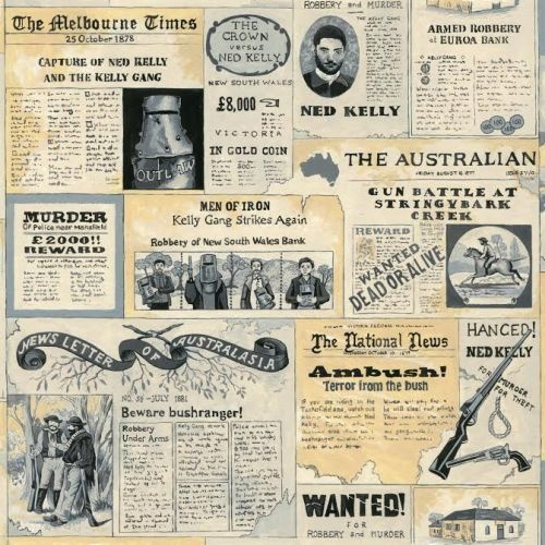 Ned Kelly Newspaper