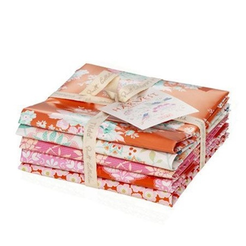 Harvest Fat Quarter Bundle Ginger Pink