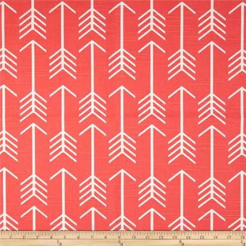 Arrow Canvas Coral by the Metre