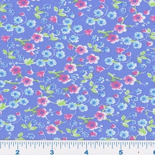 Fun Floral Daisy Periwinkle