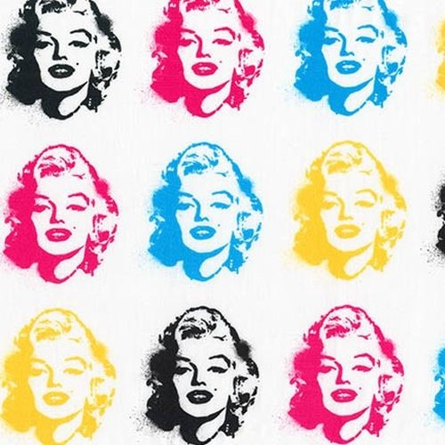 Marilyn Monroe Faces Bright