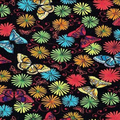 Butterfly Bright Black