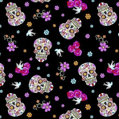 Folklorico Day of the Dead Sugar Skulls