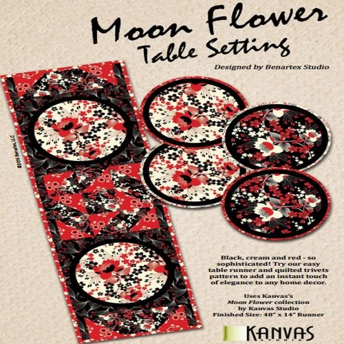 Moon Flower Table Setting Kit