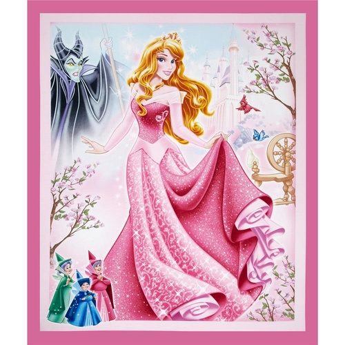 Licensed Disney Sleeping Beauty Panel