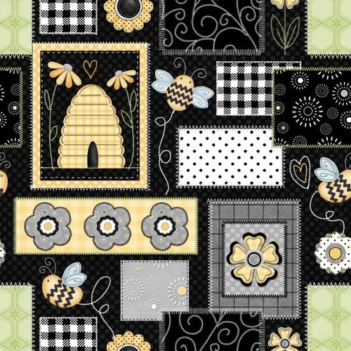 Sew Bee It Flowers Patch