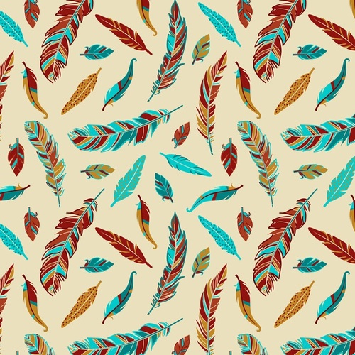 Native Spirit Whimsy Feathers Cream