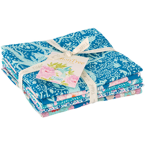 Tilda LemonTree FQ Bundle Blue