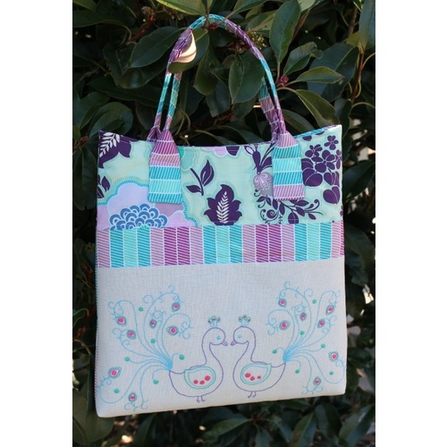 Birds of a Feather Stitchery Handbag Kit