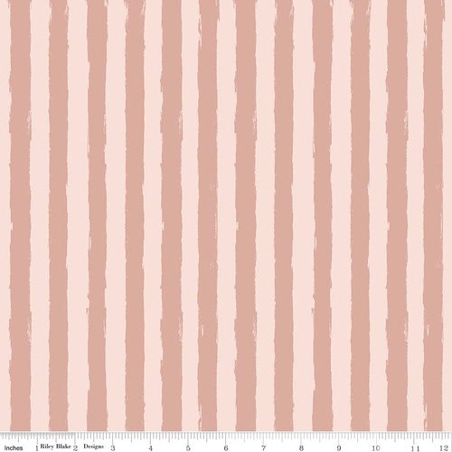 Blush Stripe Pink Sparkle