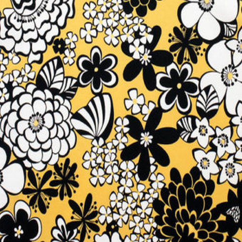 Satchi Mod Floral Yellow