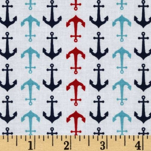 Anchors Away White Per Metre