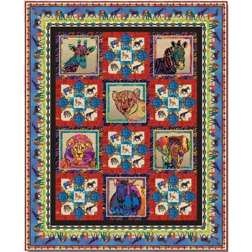 Serengeti Reflections Quilt Kit #1