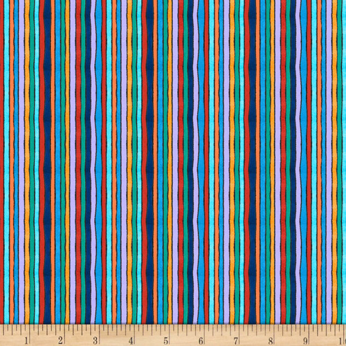 Arctic Wonderland Stripe Warm Multi