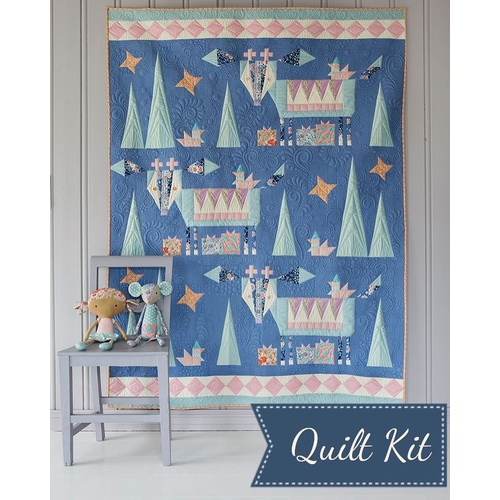 Tilda Bird Pond Winter Mountain Holiday Quilt Kit