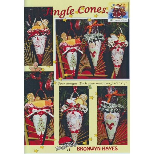 Jingle Cones Christmas Pattern