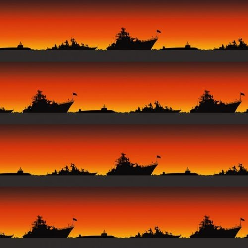 Remembering Anzac Ships & Subs at War Stripe