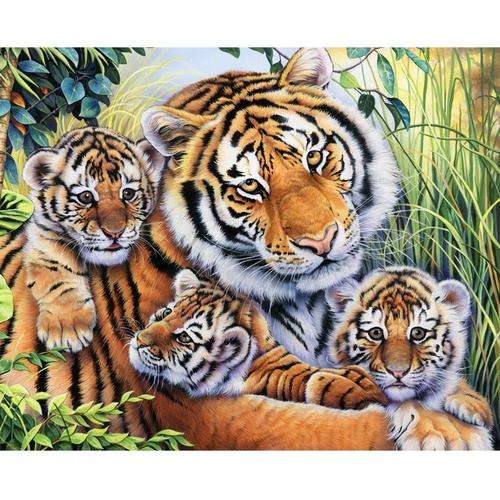Tiger Lily Family Panel