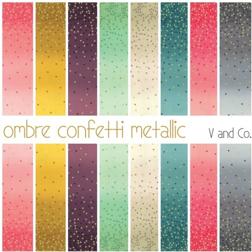 Ombre Confetti Metallic 25cm Bundle