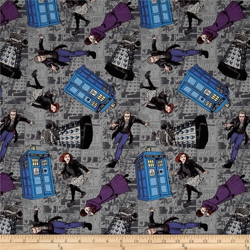 Licensed Doctor Who Character Toss