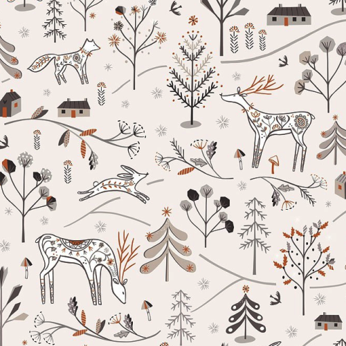 Winterfold Woodland Animals Sparkle