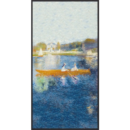 The Skiff Boat Water Renoir Panel