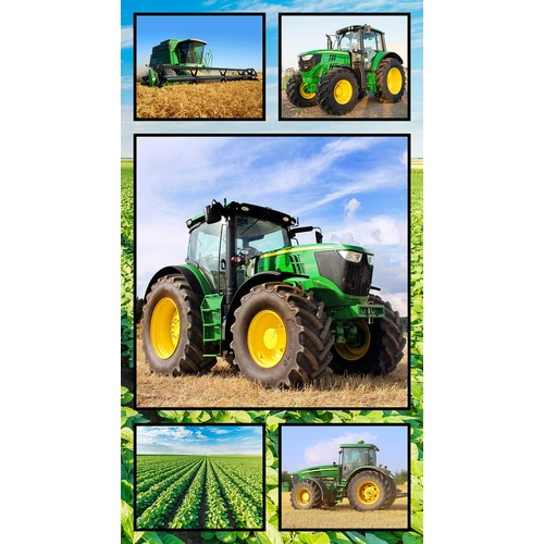 Farm Machines Tractors Panel 7105 C