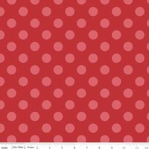Sparkle Hollywood Medium Dot Red