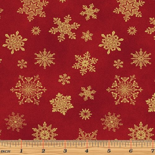 Cat-I-tude Christmas Snowflake Red