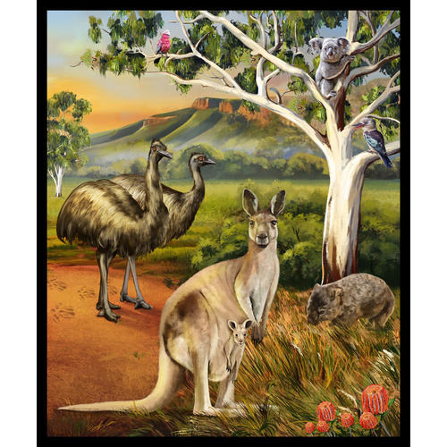Wildlife Valley Australian Animals Panel