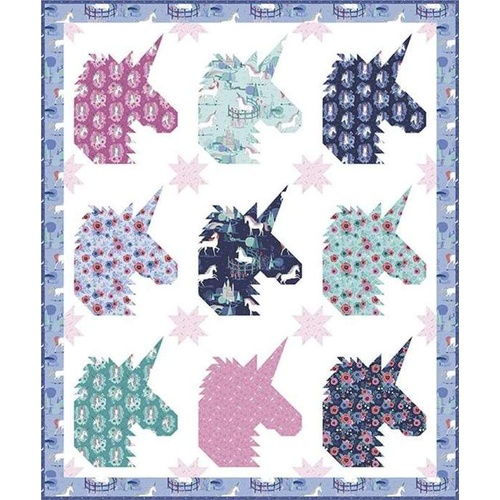 My Unicorn Team Quilt Pattern