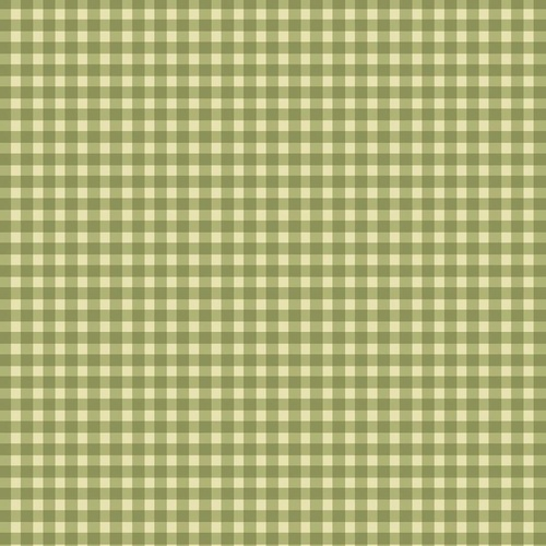 Welcome Home Flannel Gingham Check Green