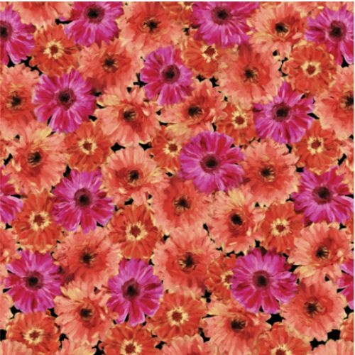 Blooming Beauty Floral Splender Coral 7815-62
