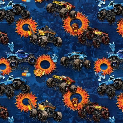 Licensed Monster Jam Fire and Ice 10261