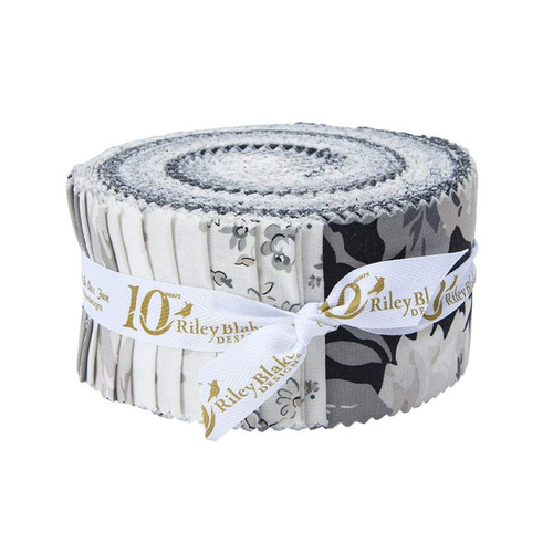 Serenity Floral Rose Rolie Polie Jelly Roll