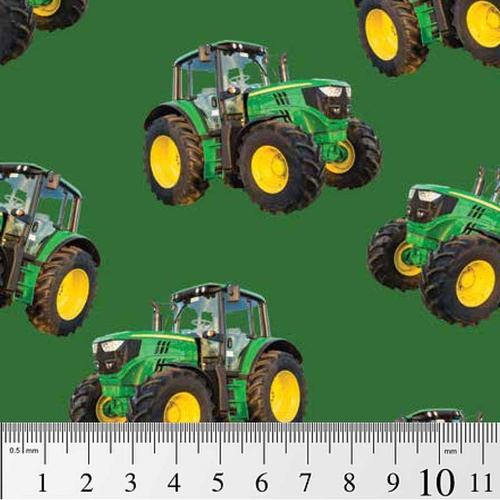 Farm Machines Tractor Toss Green 7105 H
