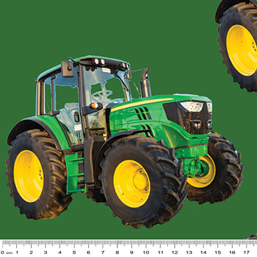 Farm Machines Tractor Large Green 7105 L
