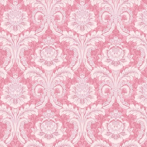 Anna Griffin Plume Feather Damask Pink CF3402-1