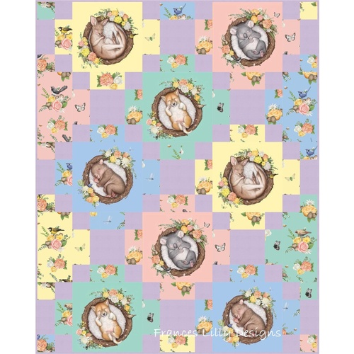Sweet Dreams Native Nursery Quilt Pattern Only