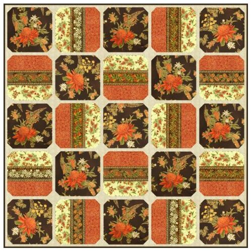 Leesa Chandler Waratah Wonder Quilt Pattern Only